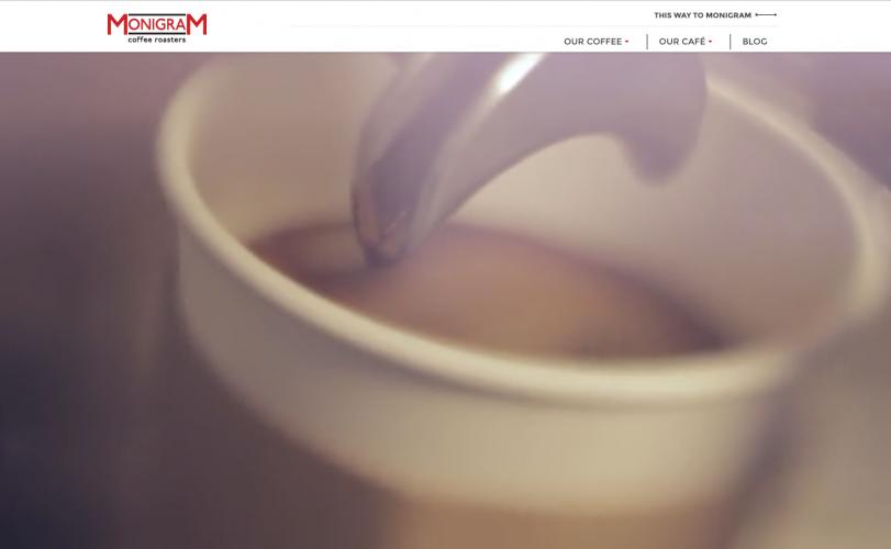 Monigram Coffee Roasters web home